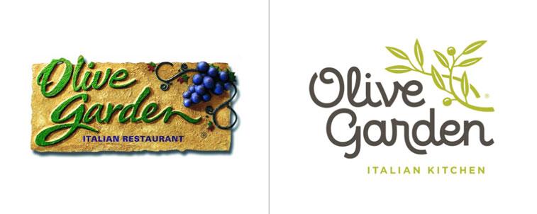 Olive Garden Umfirmierung Pinterest