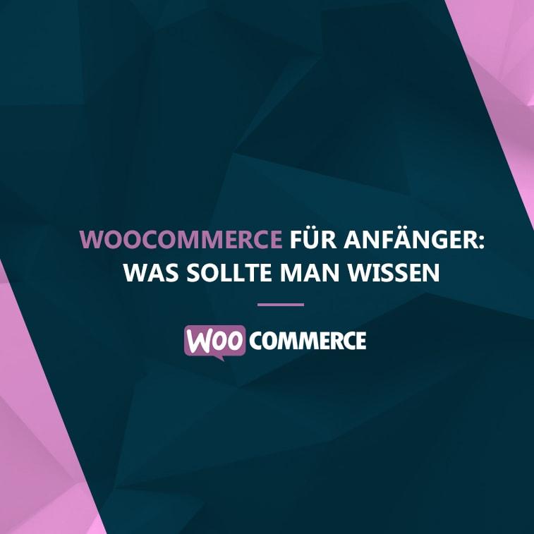 WooCommerce für Anfänger: was soll man wissen?