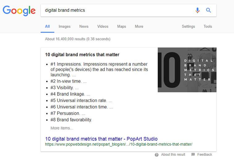 digitale markenmetrik