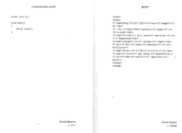 Code poems 1