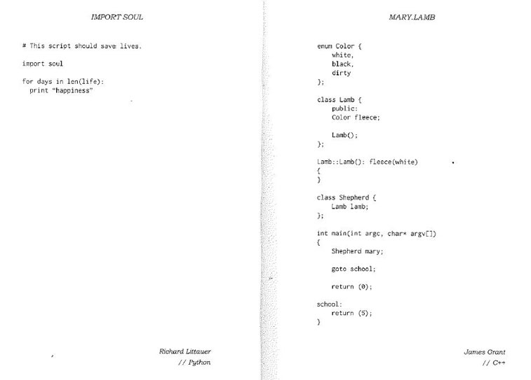 Code poems 2