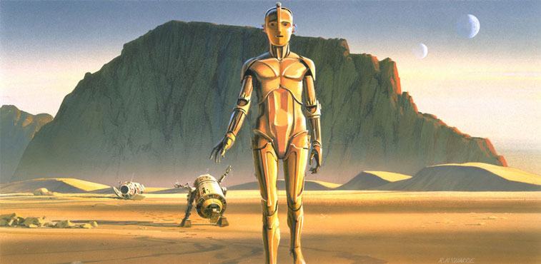 Ralph McQuarrie Star Wars 1