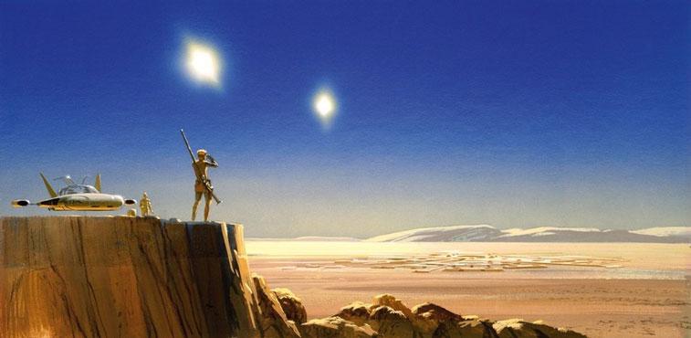Ralph McQuarrie Star Wars 2