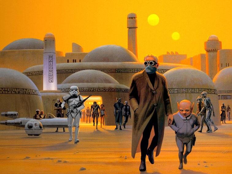Ralph McQuarrie Star Wars 3