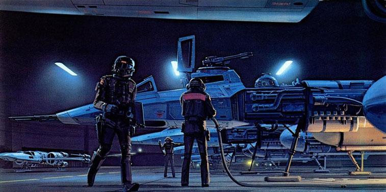 Ralph McQuarrie Star Wars 3-3