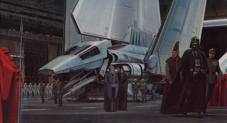 Ralph McQuarrie Star Wars 3-4