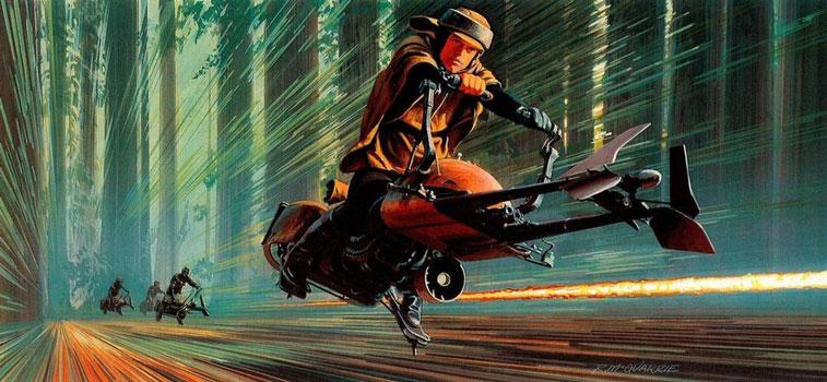 Ralph McQuarrie Star Wars 3-5