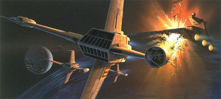 Ralph McQuarrie Star Wars 3-6
