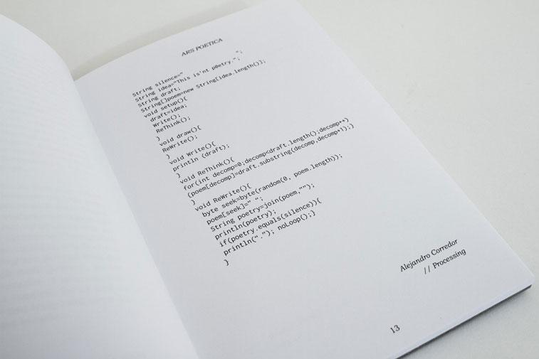 asr Poetica code poems Ishac Bertran