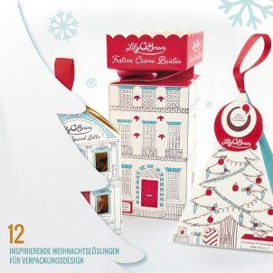 12 inspirierende Weihnachtslösungen für Verpackungsdesign