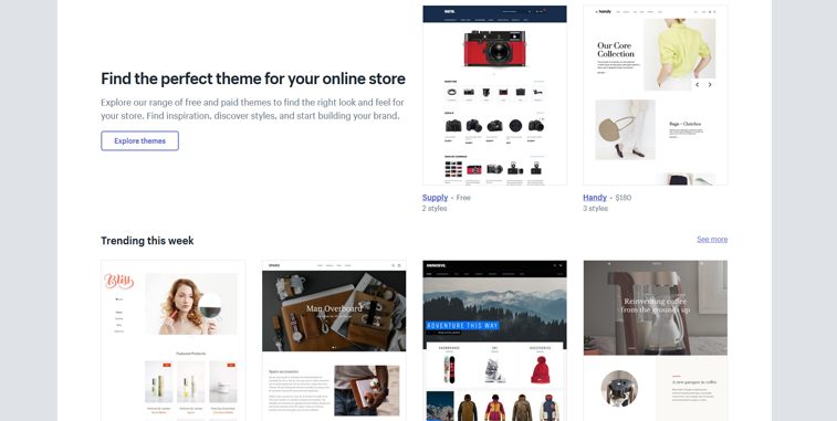 Shopify-Thema
