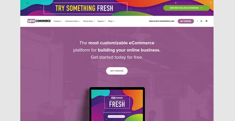 WooCommerce-homepage