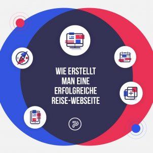 Webseitenentwicklung für Reisegentur