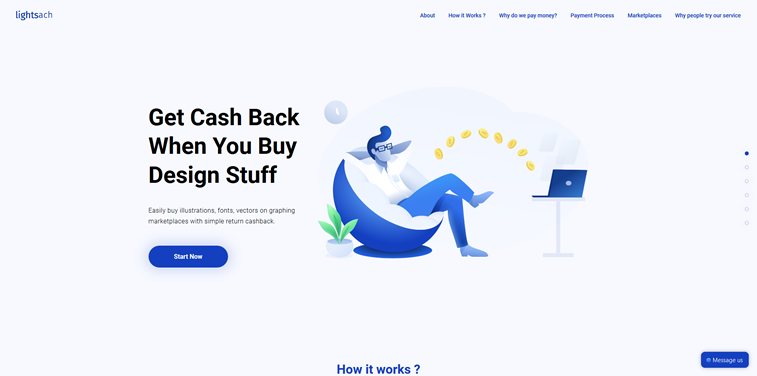 Lightsach homepage illustration