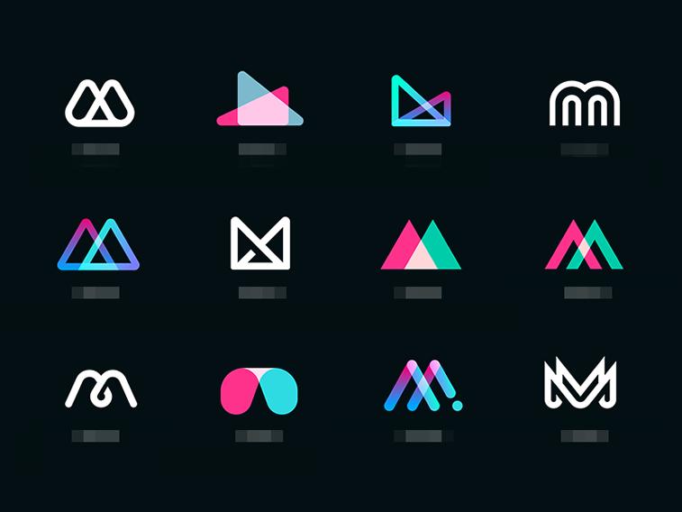 M Exploration logo design