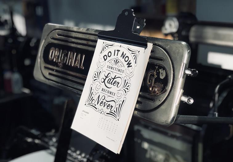 letterpress Mr cup behance