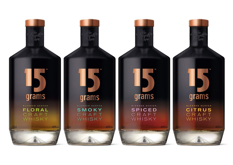15 grams whiskey verpackung