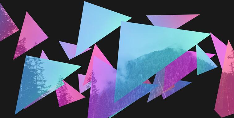 Daily CSS design mountain