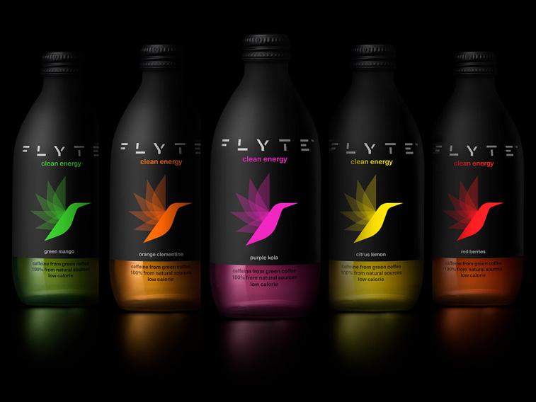 Flyte drink dichromatischeverpackung