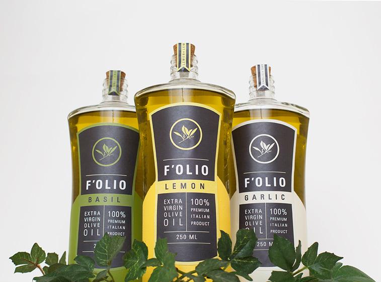 Folio olive oelverpackung