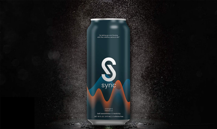 Sync dichromatisches design