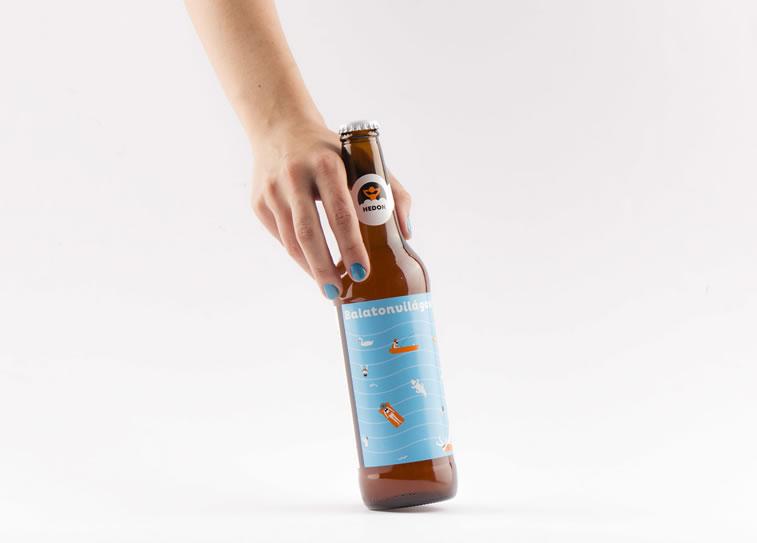 bier verpackungsdesign balaton