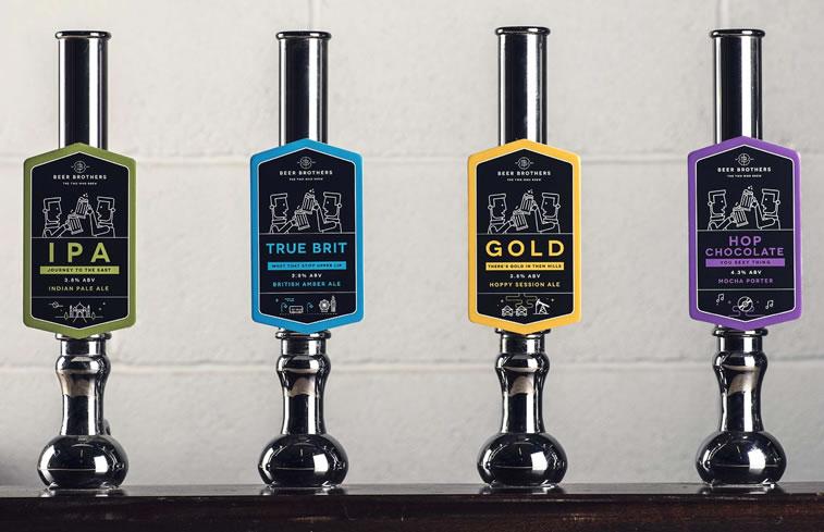 bier verpackungsdesign beerbros pumps