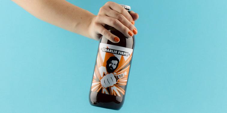 bier verpackungsdesign charlie firpo