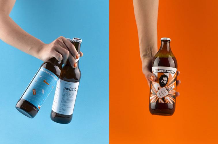 bier verpackungsdesign charlie infuzio