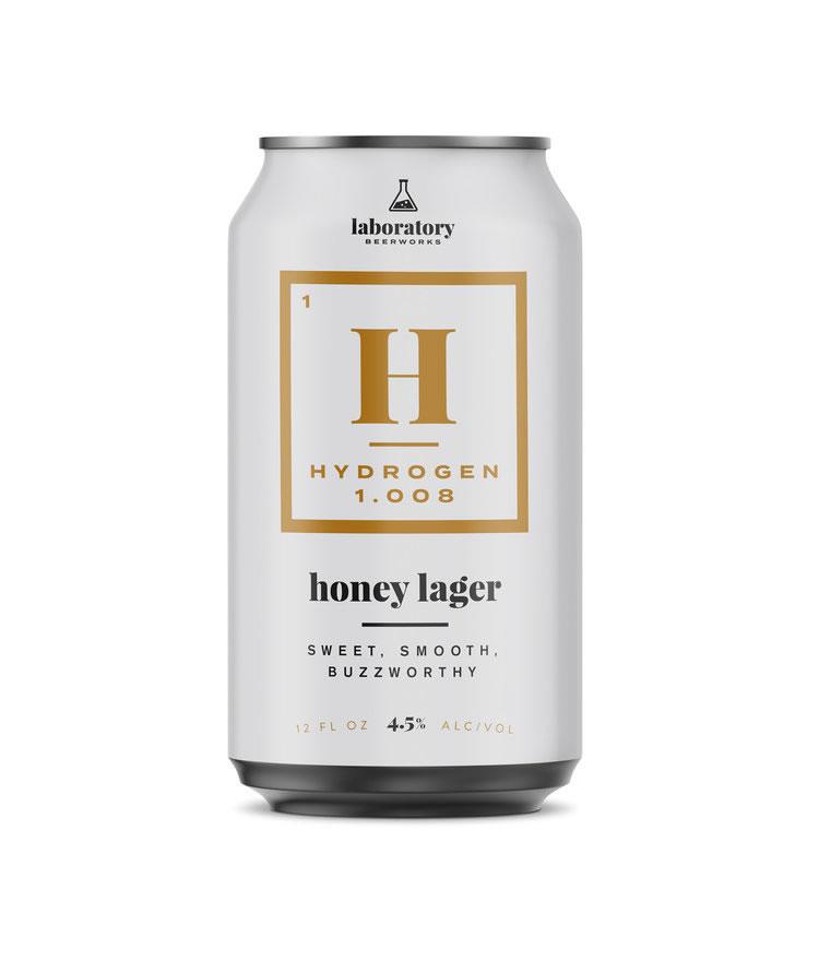 bier verpackungsdesign hydrogen lager