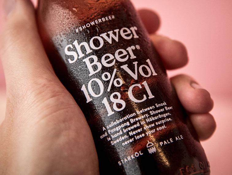 bier verpackungsdesign shower beer 1
