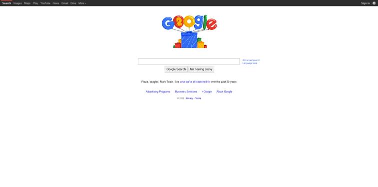 Google 20 Jahre