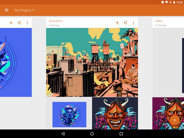 Adobe Illustrator Draw Anwendung