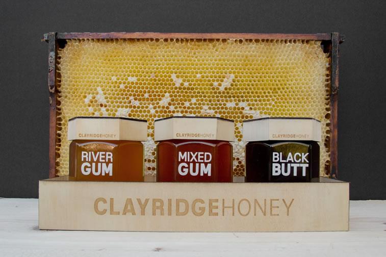 clayridge etikette fuer honig