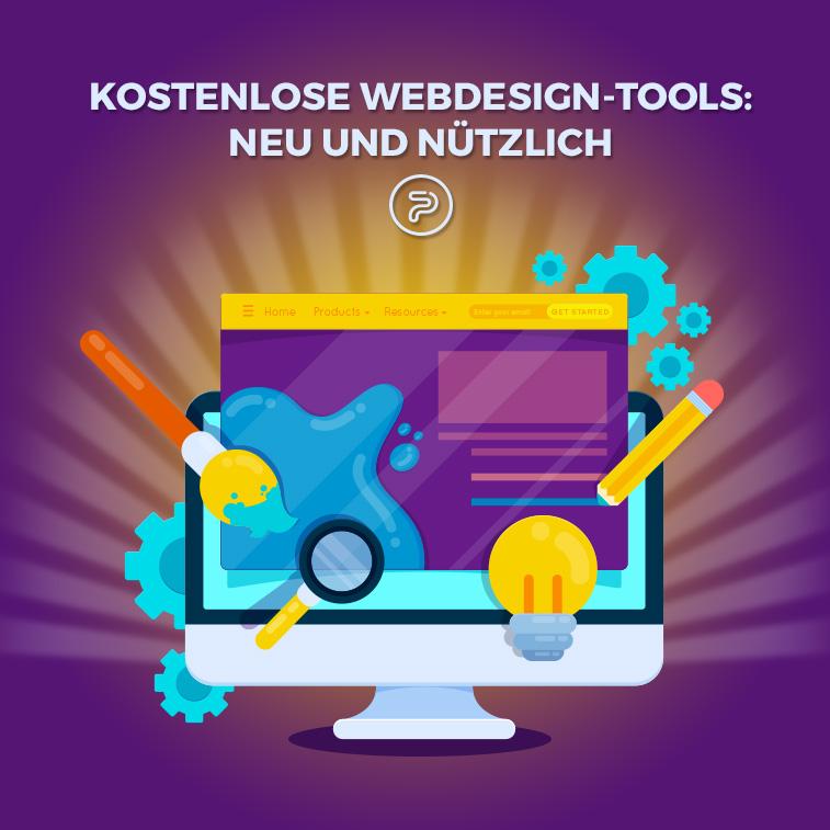 Kostenlose Webdesign-Tools: neu und nützlich