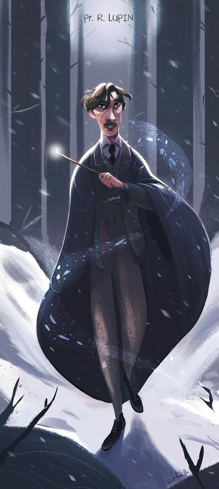 remus lupin harry poter charakter