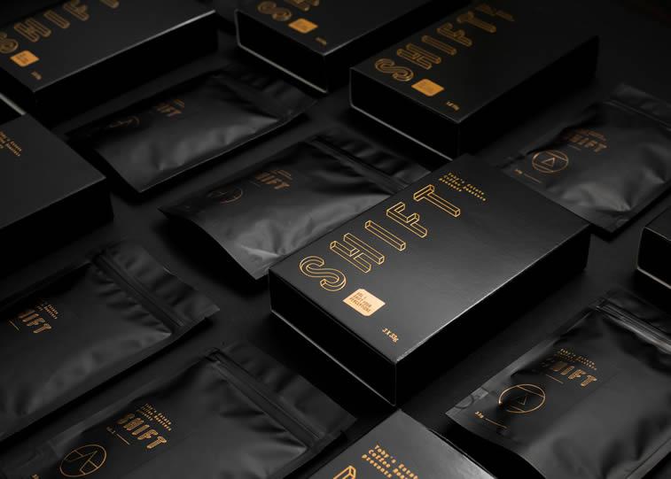 Kaffee-verpackung shift