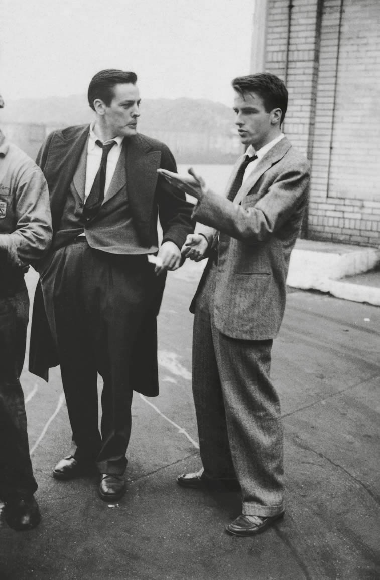 Montgomery Clift und Kevin McCarthy 1949 guardian