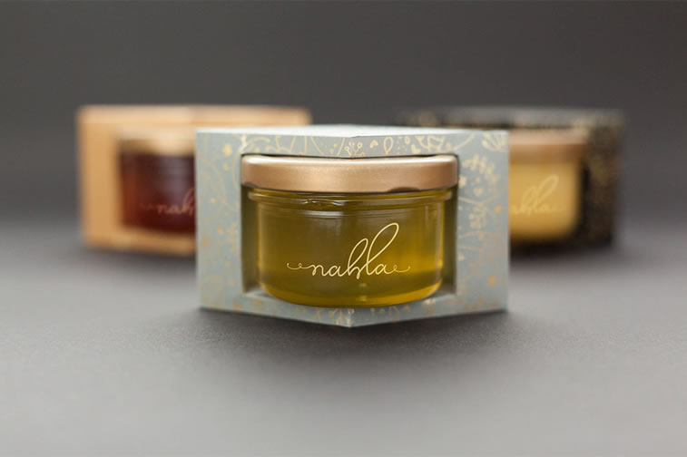 nahla organic honigverpackung