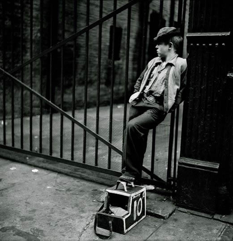shoe shine boy 1947 penccil