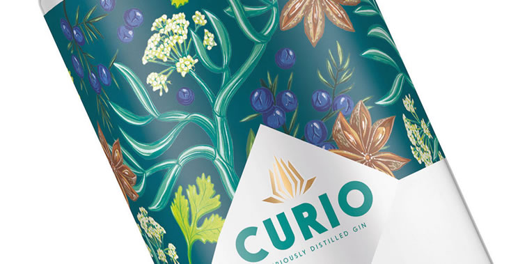curio spirits etikette