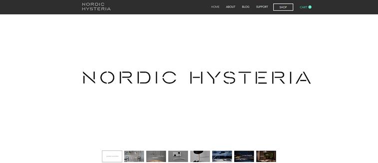 nordic hysteria einzigartige schriftart