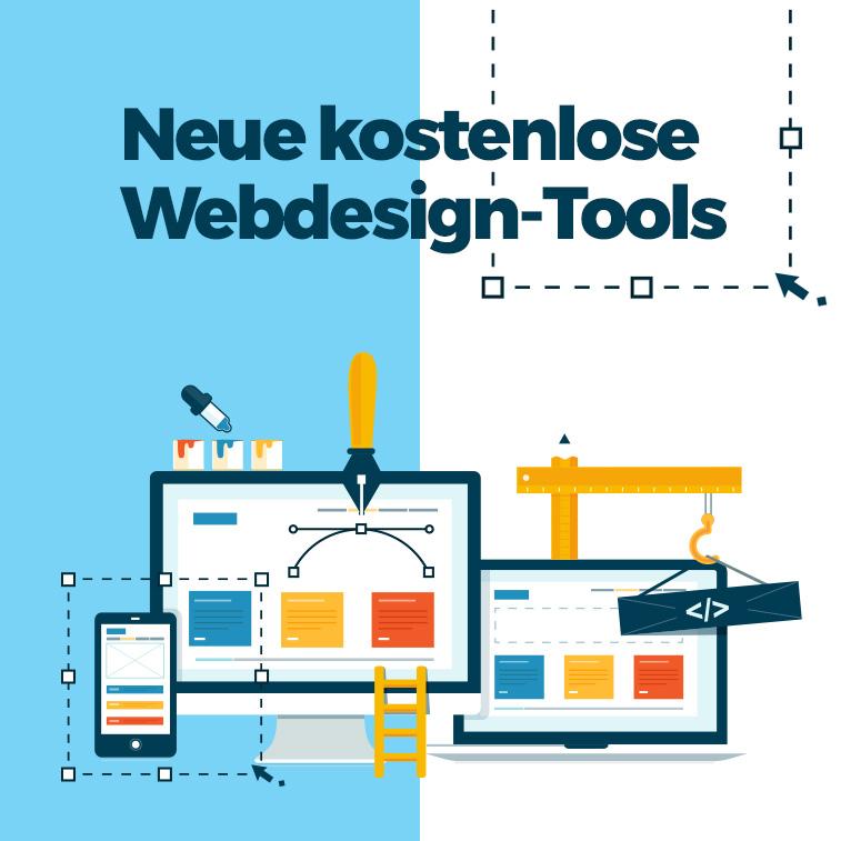Neue kostenlose Tools für Webdesign