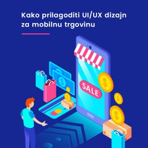 Wie kann man das UI/UX Design von einem E-Shop für Mobilgeräte anpassen