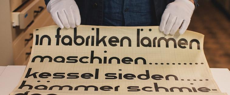 typografie buchstaben font
