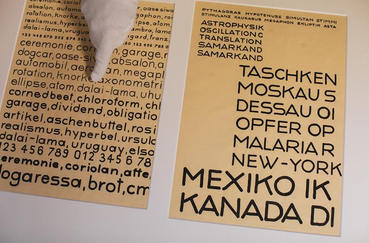 bauhaus typografie adobe buchstaben