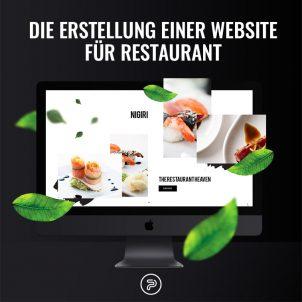 Die Erstellung einer Website für Restaurants und Bars