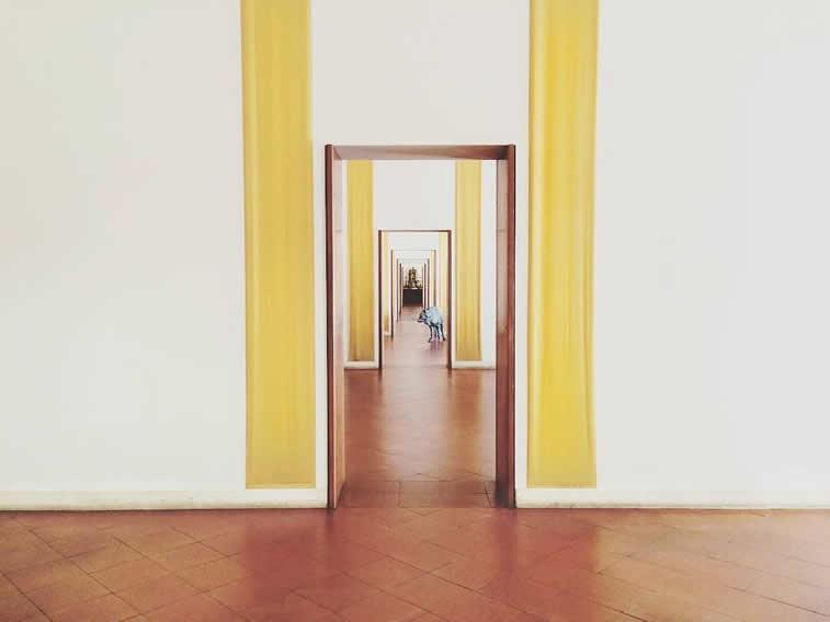 Innendeko im Museum