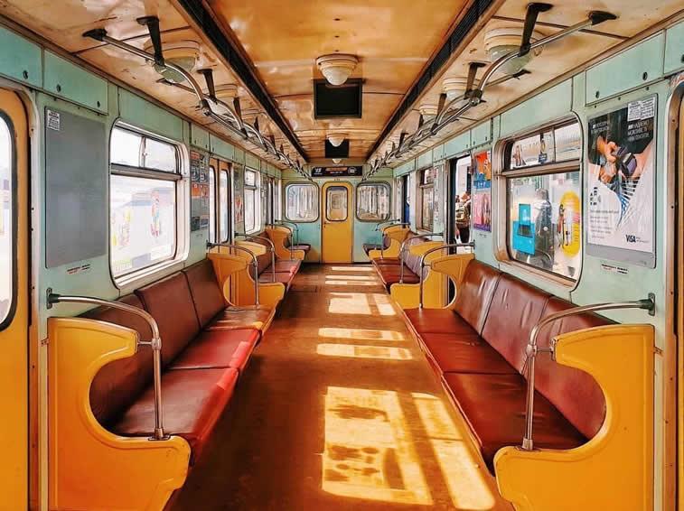 Zug aus der Vergangenheit