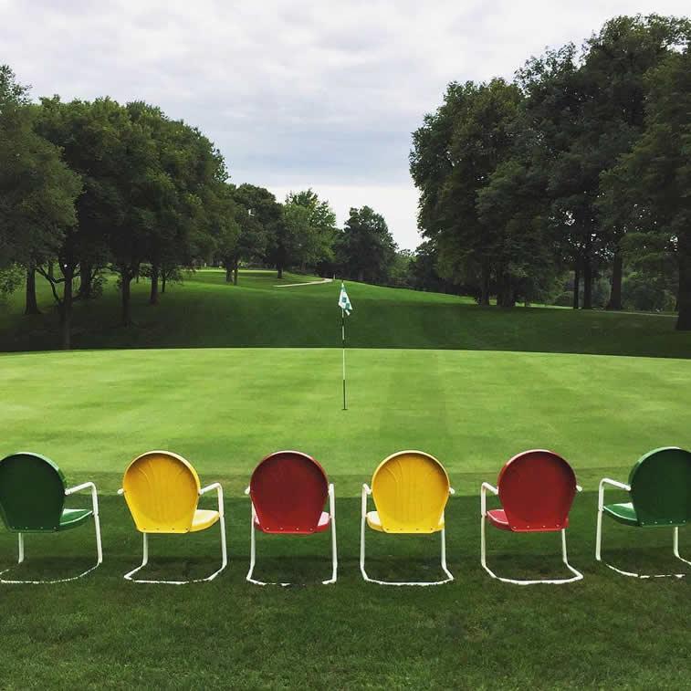 Golfgelände
